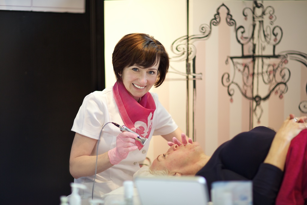 Jeannette Forgacova, the owner of Revolution & Impression Beauty Clinic